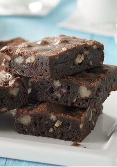 BAKER'S ONE BOWL Brownies – Here it is—the one and only BAKER'S ONE BOWL Brownies recipe. This is the one that gets handed down through the generations. You'll know why with one bite.