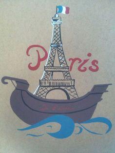 Paris art Paris Art, Tower, Travel, Rook, Viajes, Computer Case, Destinations, Traveling, Trips
