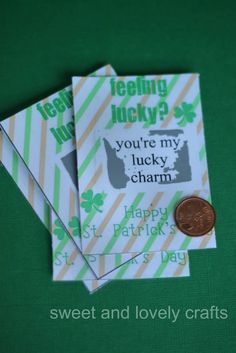 Printable St. Patrick's Day scratch tickets - so fun for the kids