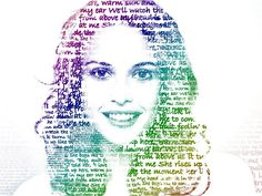 Simple face art with GIMP, text all over the face   |   Video (4:51) uploaded December 9, 2012 by M Riza