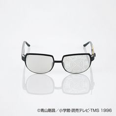 "Criminal Tracking Glasses from ""Case Closed"". Elecom, a Japanese electronics company, has produced a new set of blue-light reducing glasses for children patterned after Conan Edogawa's ""Criminal Tracking Glasses"". The glasses are designed to cut down on the blue end of the visible light spectrum emitted by televisions, computer monitors, smart phones, and other similar electronic devices. ""Mirror Map"" version with antennae here."
