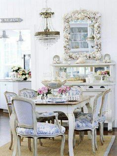Chic and antique.