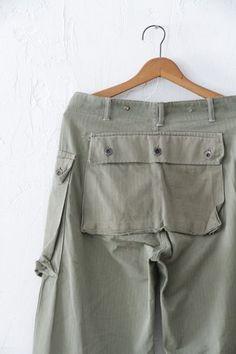 USMC HBT M44 pants (Aka Monkey Pants)