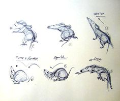 Fantasting Drawing Hairstyles For Characters Ideas. Amazing Drawing Hairstyles For Characters Ideas. Character Design Animation, Character Design References, Character Drawing, Comic Character, Animal Sketches, Animal Drawings, Ratatouille Characters, Ratatouille 2007, Disney Concept Art