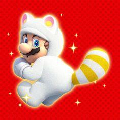 Racoon Mario - Super Mario 3D World, Wii U