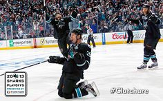 2012-13 San Jose Sharks Playoff Wallpaper #Clutchure Logan Couture, Hockey Wife, San Jose Sharks, Hockey Players, Ice Hockey, Nhl, Basketball Court, Hockey Stuff, Sports