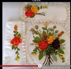 It is an interesting way to get fascinating DIY decorations from trash. On the other hand, recycling old materials is good for environment. Check out our educational videos. Silk Ribbon Embroidery, Hand Embroidery, Duct Tape Crafts, Ribbon Work, Sewing Hacks, Handicraft, Needlework, Diy Crafts, Crafty