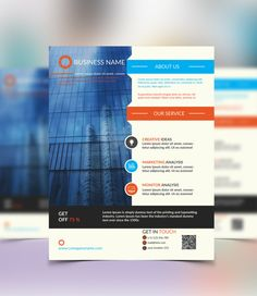 create a creative corporate flyer design by shadow_pixel
