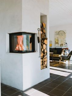 sweet fireplace