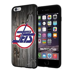 Winnipeg Jets 4 Black Wood NHL Logo WADE4757 iPhone 6+ 5.5 inch Case Protection Black Rubber Cover Protector WADE CASE http://www.amazon.com/dp/B013NWG8OS/ref=cm_sw_r_pi_dp_0vzFwb01RB9VE