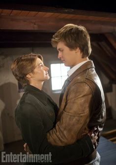 First Look at Shailene Woodley and Ansel Elgort in 'The Fault in Our Stars' ~ Punch Drunk Critics
