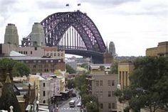 The Rocks - Sydney - tourist trap but fun and actual history there below the trinkets.