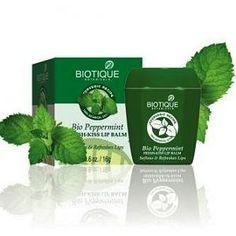 Biotique Bio-Peppermint Fresh Kiss Lip Balm