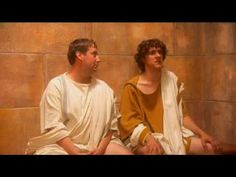 Clip from HORRIBLE HISTORIES - Roman Toilets - YouTube (fair warning it is a yucky)