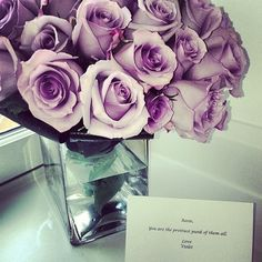 I had purple flowers once by Boogy!!!