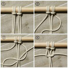macrame knot - myfrenchtwist.com