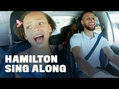 "Stephen Curry Belts Out ""Hamilton"" with Daughters Riley and Ryan Stephen Curry, Hamilton, Ryan Youtube, Youtube Vidoes, Mens Ministry, Channel, Living Under A Rock, Family Tv, Great Ads"