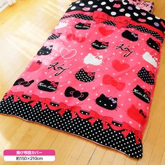 Hello Kitty- Bed Cover.