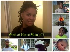 """I often get asked, """"how do you manage being a work at home mom with seven kids?"""" The answer is really simple...it's what I'm meant to do! But, that of course, is not what people really want to know...they want to hear exactly what it is I do."""