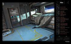 sci fi bedroom - Google Search