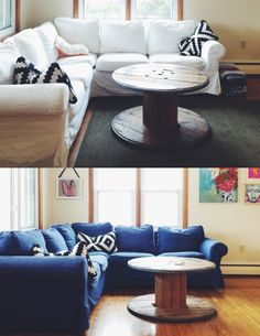 How To Dye Ikea Slipcovers With Rit Dye In The Washing