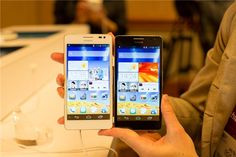 Huawei Ascend Mate and D2