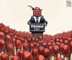 Hateful People who identify with Trump are now raising their voices and expressing what they think...