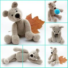 crochet teddy bear / horgolt maci http://habcsi.blogspot.hu/