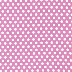 Michael Miller House Designer - Dots - Kiss Dot in Peony
