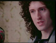 Brian May during an interview in 1977