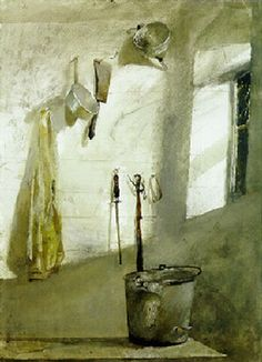 Andrew Wyeth - The milk room