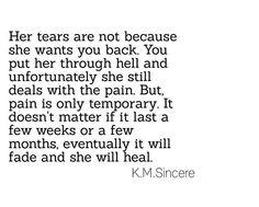 She will heal