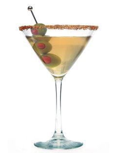 Get Filthy Martini Recipe from Food Network Dirty Martini Recipe, Vodka Martini, Martini Recipes, Coriander Spice, Ground Coriander, Smirnoff, Yummy Drinks, Food Network Recipes, Allrecipes