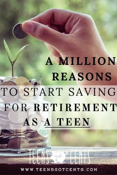Is retirement planning for teenagers important? More than you might think! Take a look at this chart and see what a difference saving early makes in life!