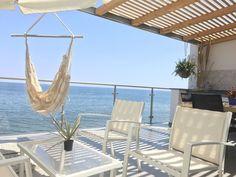 Schöne Ferienwohnung am Meer Sizilien: neu renoviert und eingerichtet mit direktem Zugang zum Strand und großer Panoramaterrasse