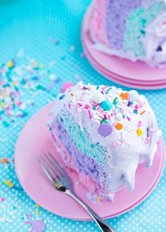 cake, sweet, food, delicious n dessert Sweet Recipes, Cake Recipes, Dessert Recipes, Yummy Treats, Sweet Treats, Yummy Food, Kreative Desserts, Rainbow Food, Cute Desserts