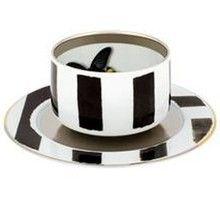 Christian Lacroix Sol y Sombra Tea Cup & Saucer 9.25 oz. - Christian Lacroix by Vista Alegre - Shop by Designer
