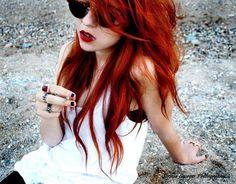 love bright red hair!
