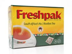 Freshpak Rooibos Tea (also available from Out of Africa Imports in Richmond, BC.)