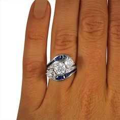 Art Deco Diamond Vintage Ring | Downton | Brilliant Earth