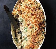 Chicken, Spinach Noodle Casserole