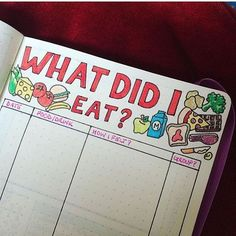 @doodledaydarlings I love this idea of a food tracker! Such a great idea if you have an unknown food allergy or just want to see what you are eating! | bujo | bullet journal | bujo junkies | bujo junkie | bullet journal junkie | bullet journal junkies | planner spread | planning | planner | planning |:
