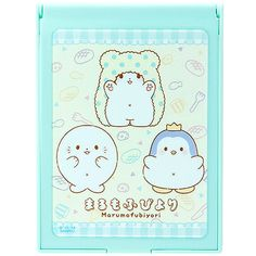 f3cf459922d4 Buy Sanrio MaruMofuBiyori Moppu and Friends Folding Plastic Pocket Mirror  at ARTBOX Sanrio