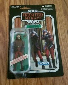 Star Wars Vintage Collection NABOO ROYAL GUARD VC83 MOC UNPUNCHED