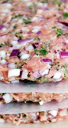 Best Turkey Burger Recipe ~ Quick, healthy and tasty