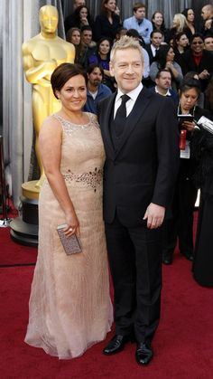 Nominee Kenneth Branagh arrives at the 84th Academy Awards.