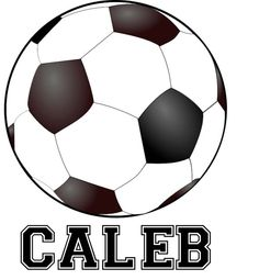 Personalized Soccer Wall Decal by nradesigns on Etsy, $19.00