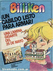 Revista Billiken. Indispensable para estudiar en la primaria . Algunos tenían la suerte de que le compraran el Manual Estrada .
