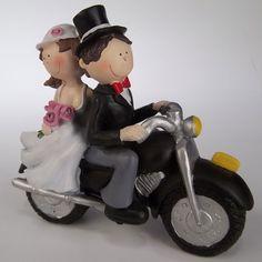 Muvis pel pastis de casament . Novios para el pastel de bodas