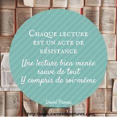 #citation #livre #livres #lecture #books #instabook #bookstagram #pennac #mypushup https://www.mypushup.com